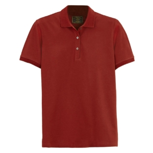 James Purdey Womens Polo Shirt Audley Red