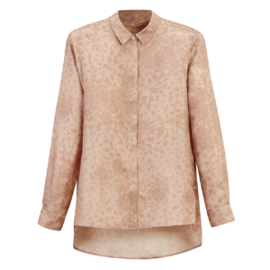James Purdey Womens Silk Shirt Pink Sand