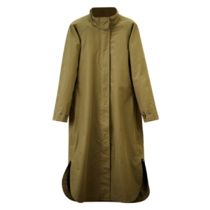 James Purdey Womens Vatersay Cape Khaki Green
