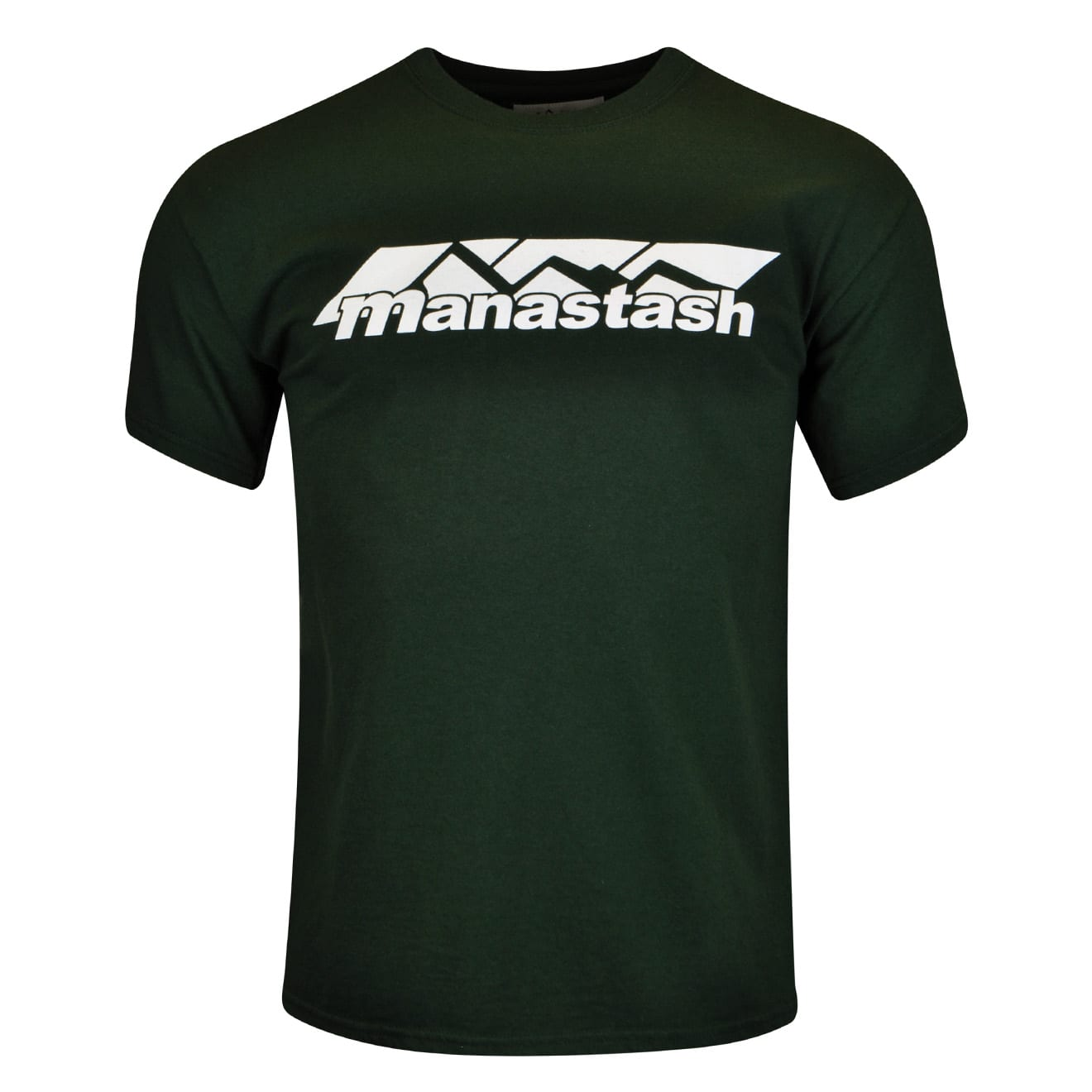 Manastash Mountain Logo T-Shirt Dark Green