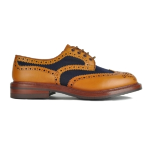 TRICKERS_BOWOOD_CANVAS_LEATHER_MIX_DERBY_SOLE_BROGUE_1