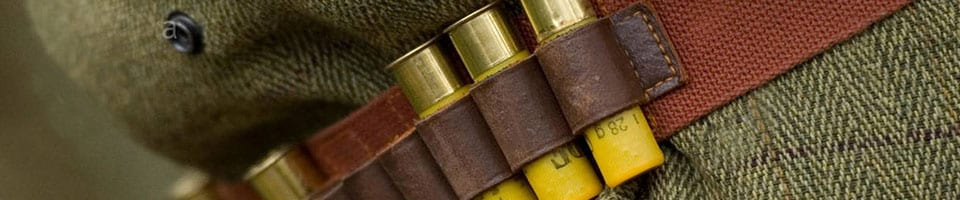 Gun cartridge belt
