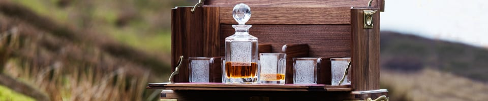 Homeware Decanter and Glasses