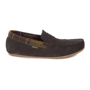 Barbour Ashworth Slippers Brown