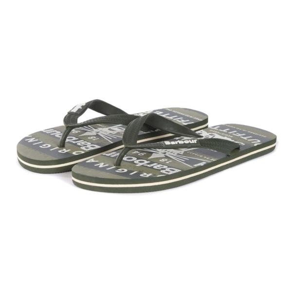 Barbour Beacon Beach Sandal Olive