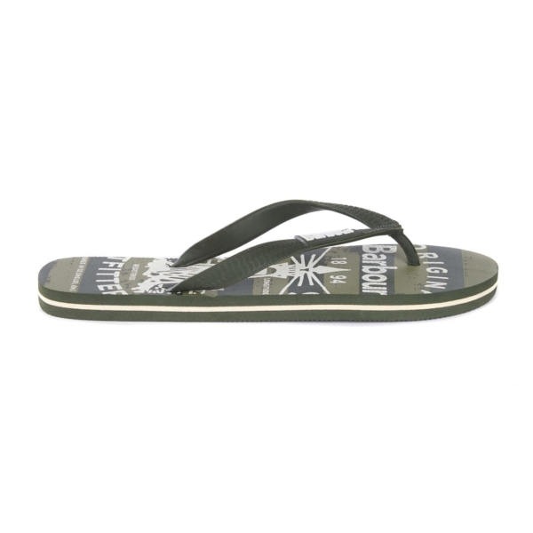 Barbour Beacon Beach Sandal Olive