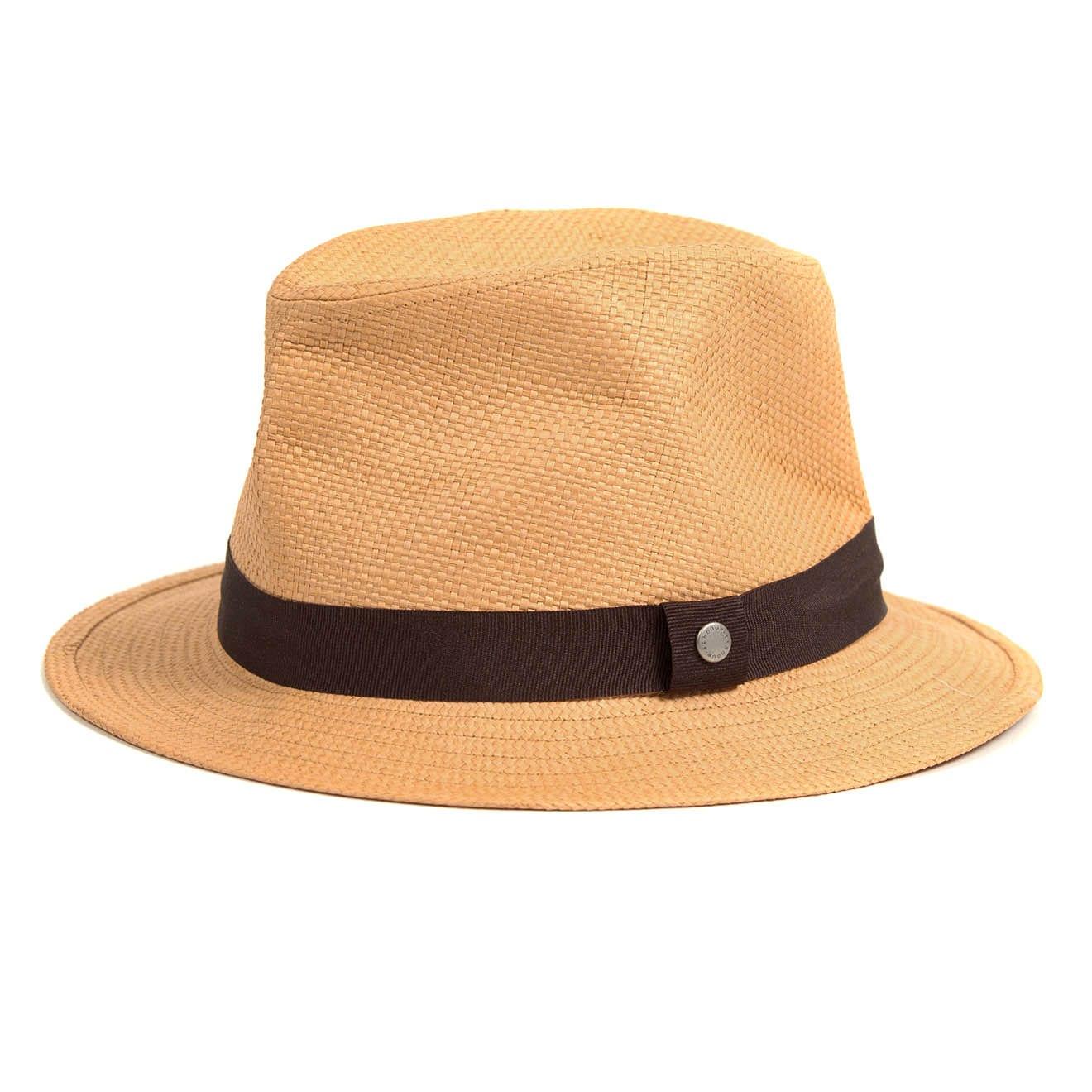 Barbour Emblem Trilby Hat Tobacco