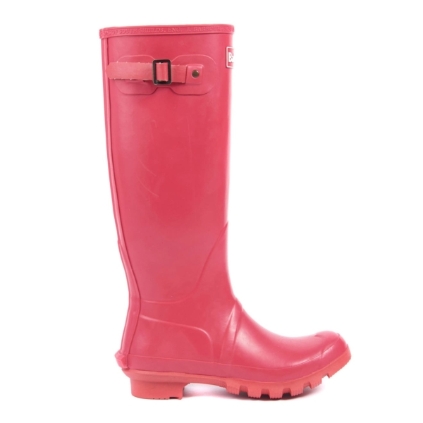 Barbour Womens Bede Wellingtons Raspberry
