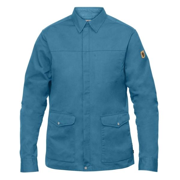 Fjallraven Greenland Zip Shirt Jacket Azure Blue