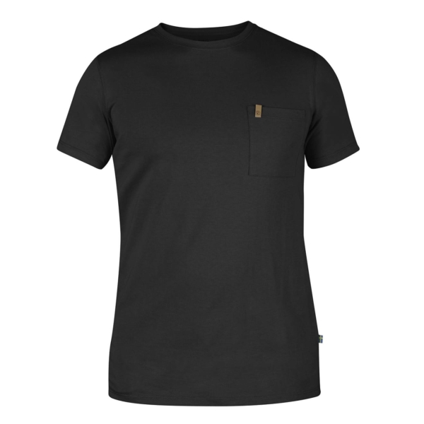 Fjallraven Ovik Pocket Tshirt Dark Grey