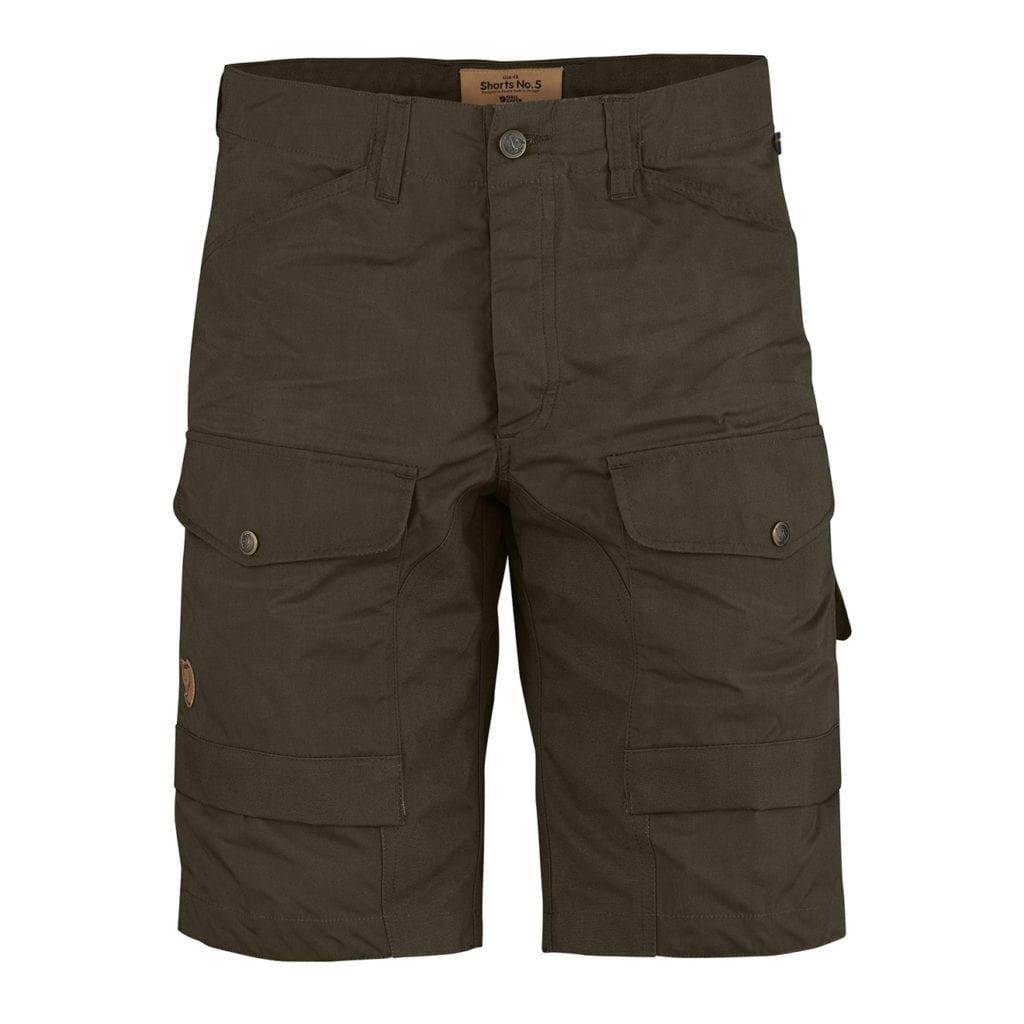 Fjallraven Shorts No 5 Dark Olive
