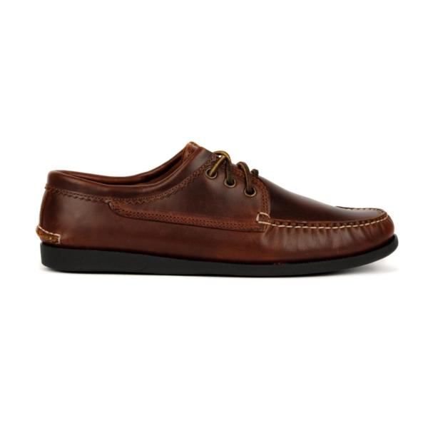 Quoddy Blucher Moccasin Shoe Chromexcel Brown
