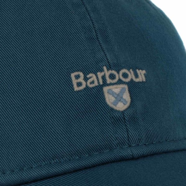 Barbour Cascade Sports Cap Steel Blue