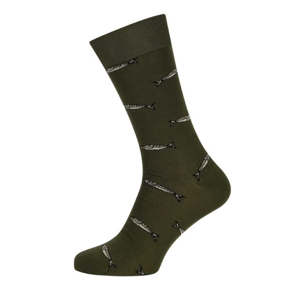 Barbour Sardine Socks Olive