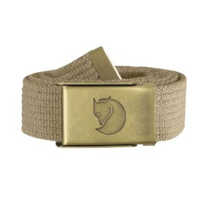 Fjallraven Canvas Brass Belt 3cm Sand