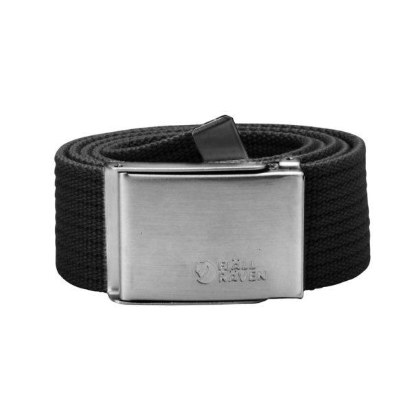 Fjallraven Merano Canvas Belt Black