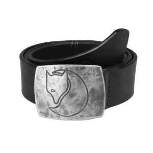 Fjallraven Murena Silver Belt Black