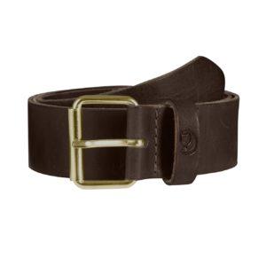Fjallraven Singi Belt 4cm Leather Brown