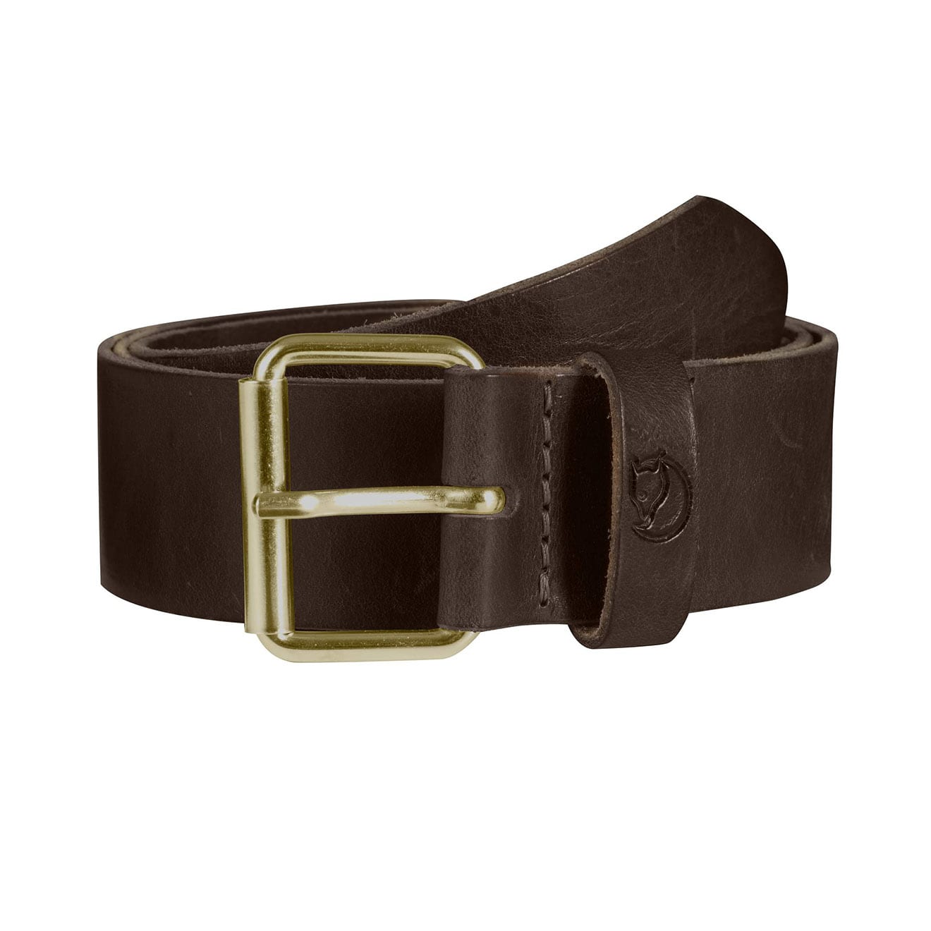 Fjallraven Singi Belt 4cm Leather Brown