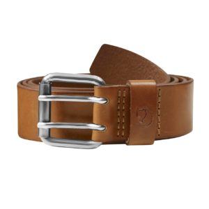 Fjallraven Singi Two-Pin Belt Leather Cognac