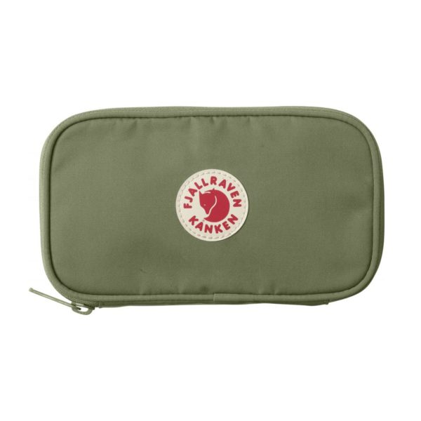 Fjallraven Kanken Travel Wallet Green