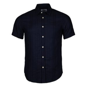 Portuguese Flannel Colonial Shirt Navy
