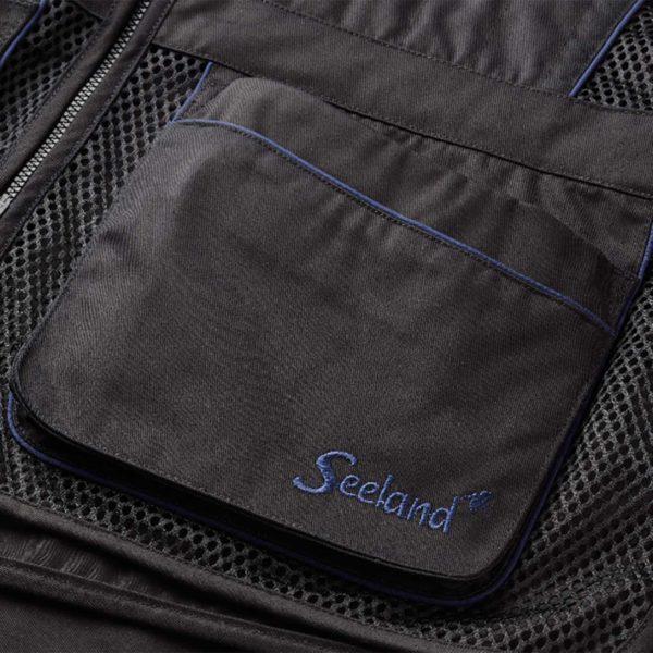 Seeland Skeet Waistcoat Black