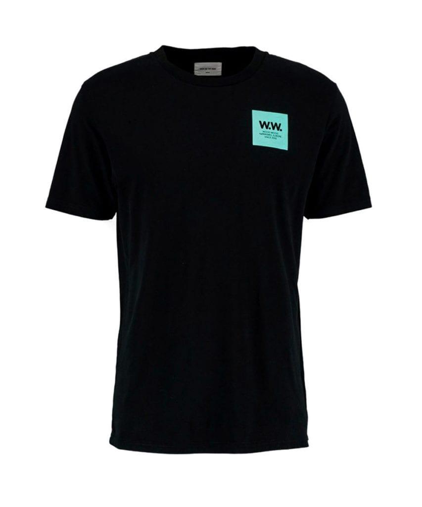 Wood Wood WW Box T-Shirt Black