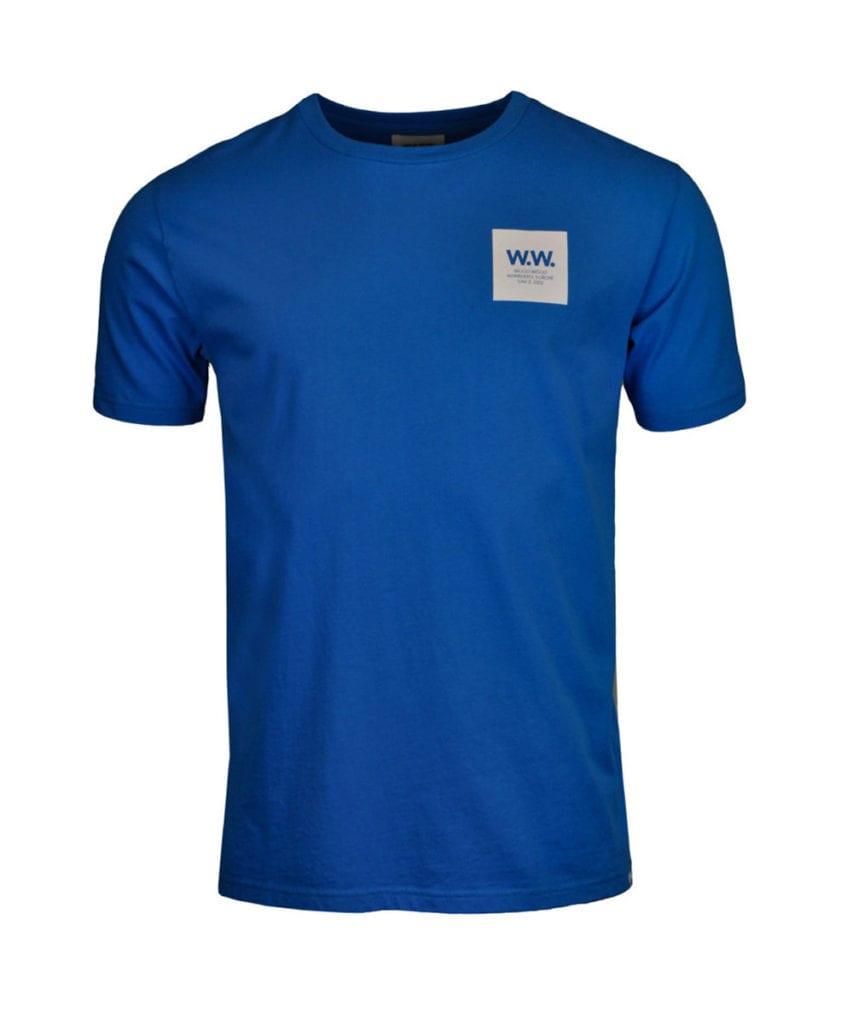 Wood Wood WW Box T-Shirt Bright Blue