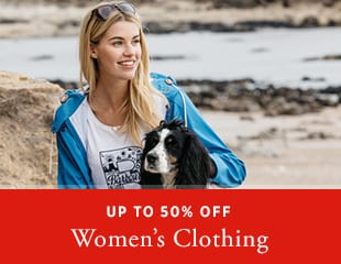 Up to 50% off Women's Wear