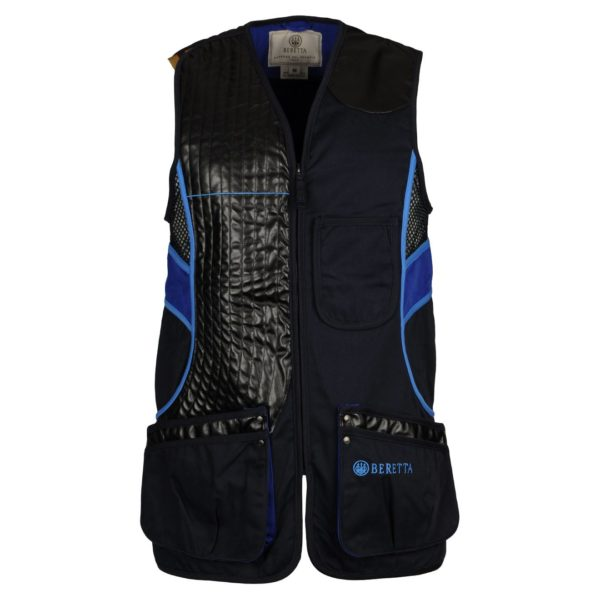 Beretta Sporting Vest Blue Total Eclipse