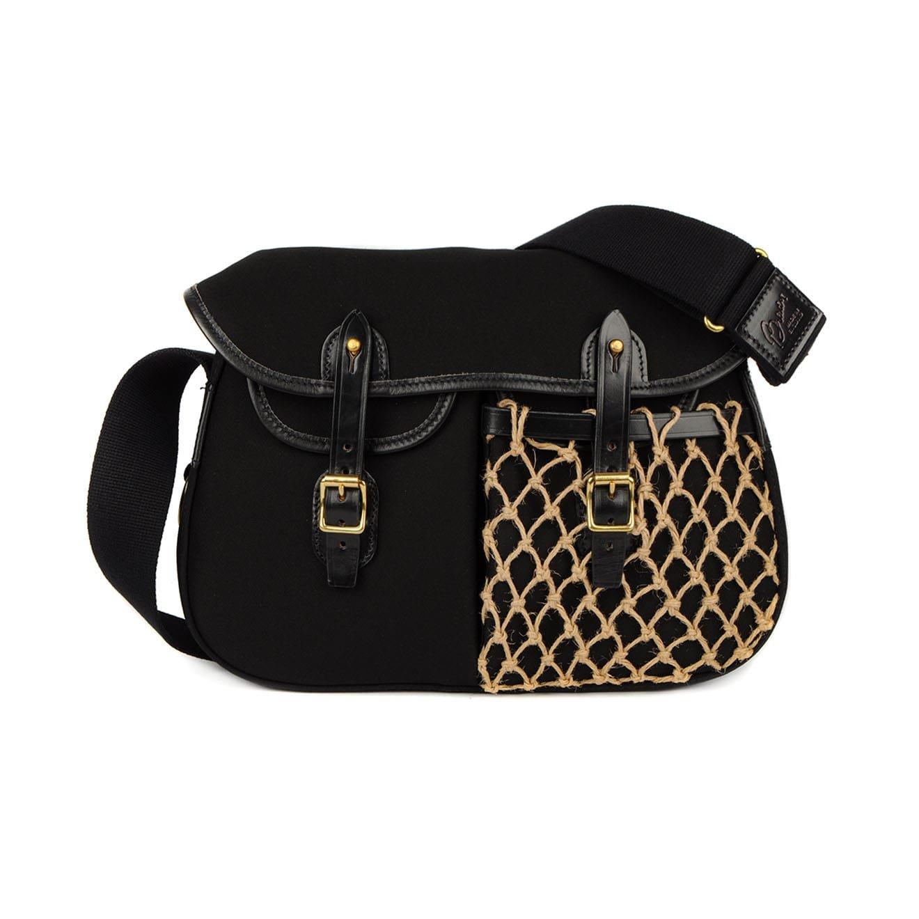 Brady Ariel Small Trout Net Pocket Bag Black