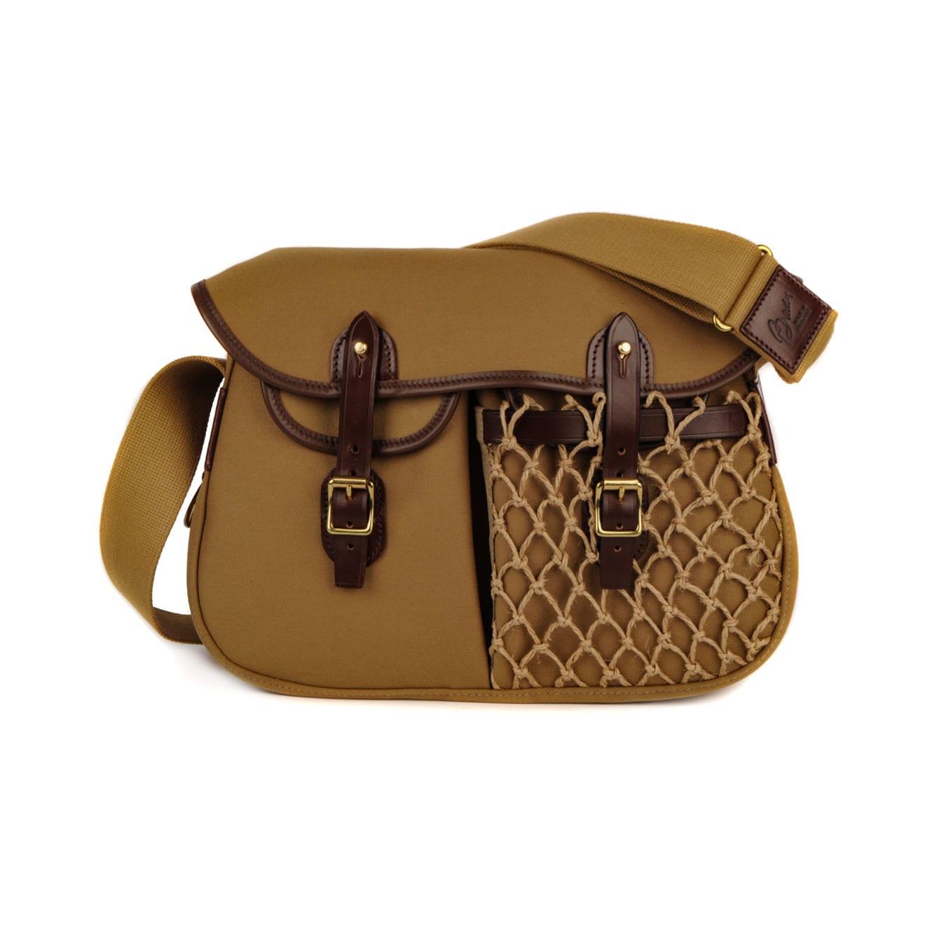 Brady Ariel Small Trout Net Pocket Bag Khaki