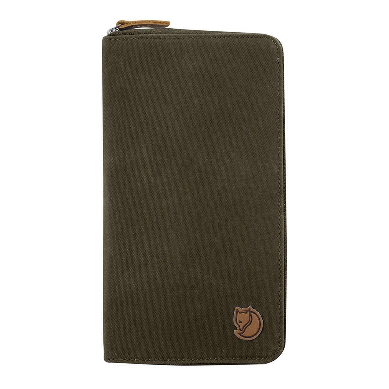 6dfd28d78 Fjallraven Travel Wallet Dark Olive