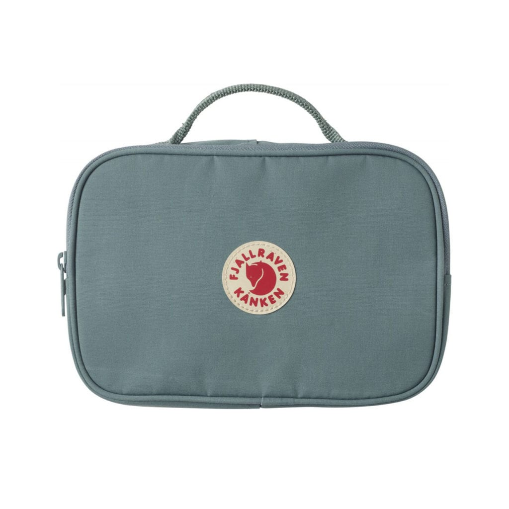 Fjallraven Kanken Toiletry Bag Frost Green