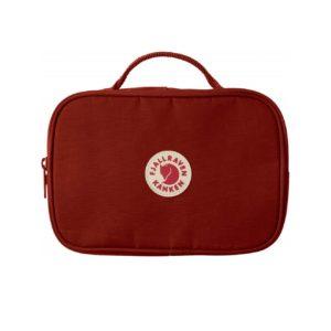 Fjallraven Kanken Toiletry Bag Ox Red