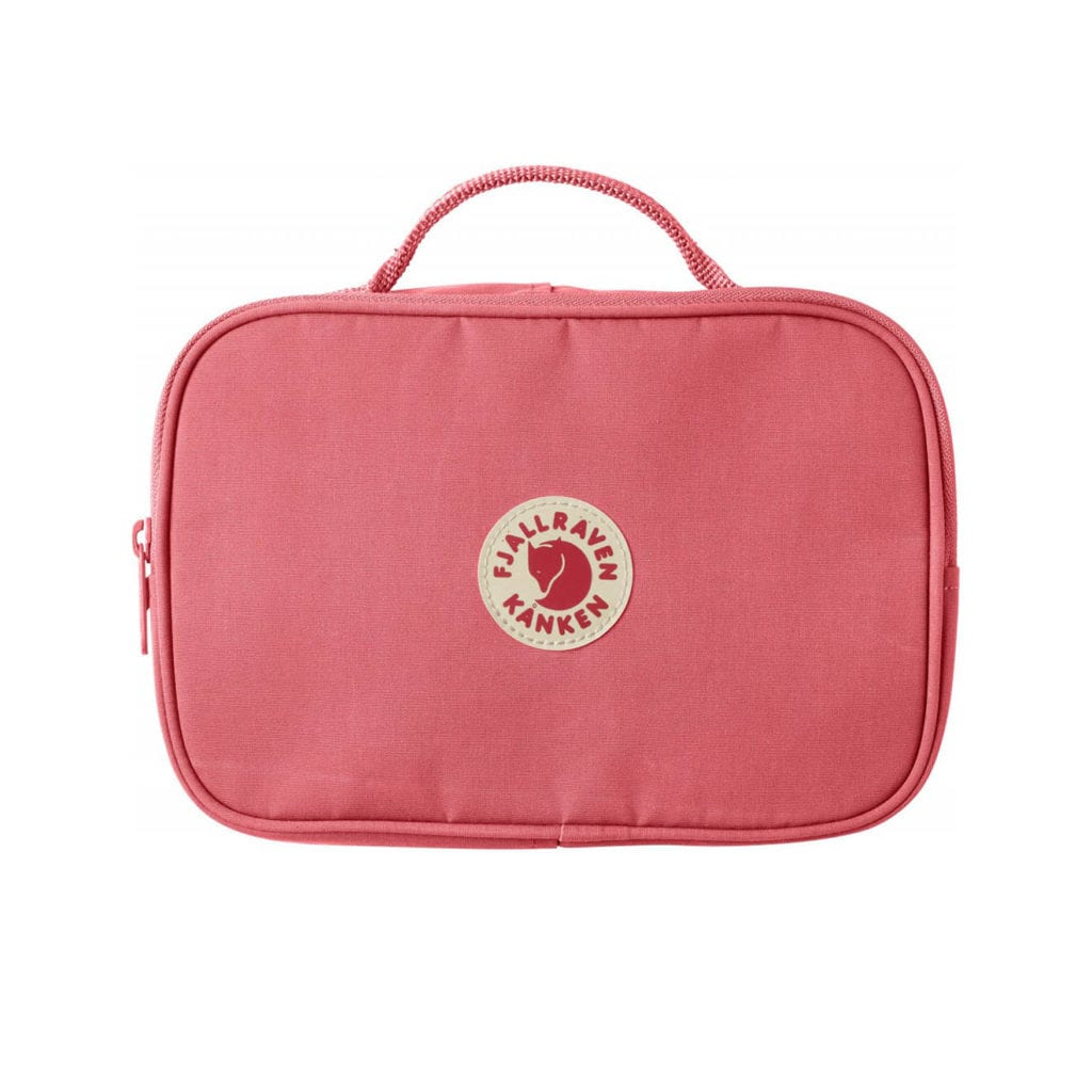 Fjallraven Kanken Toiletry Bag Peach Pink