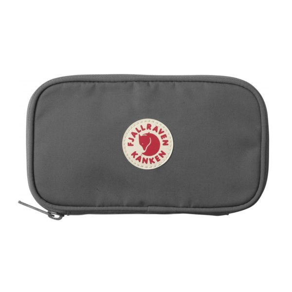Fjallraven Kanken Travel Wallet Super Grey