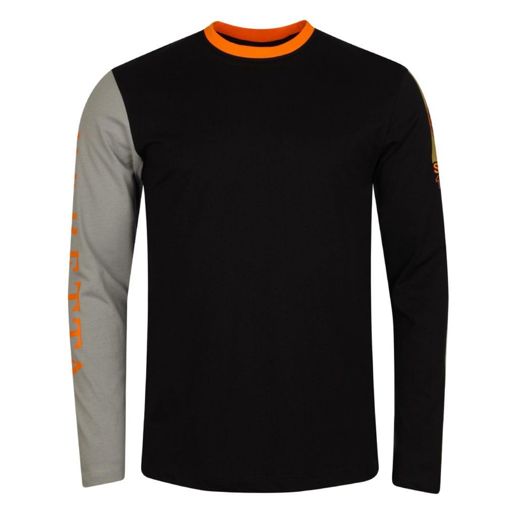 Beretta Victory Corporate T-Shirt Black / Orange