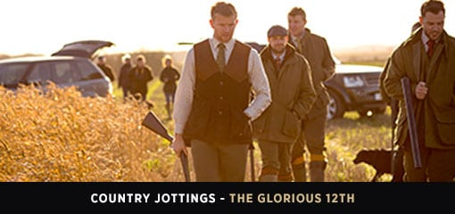 Country Gentlemen in Shooting Attire on the Glorious 12th
