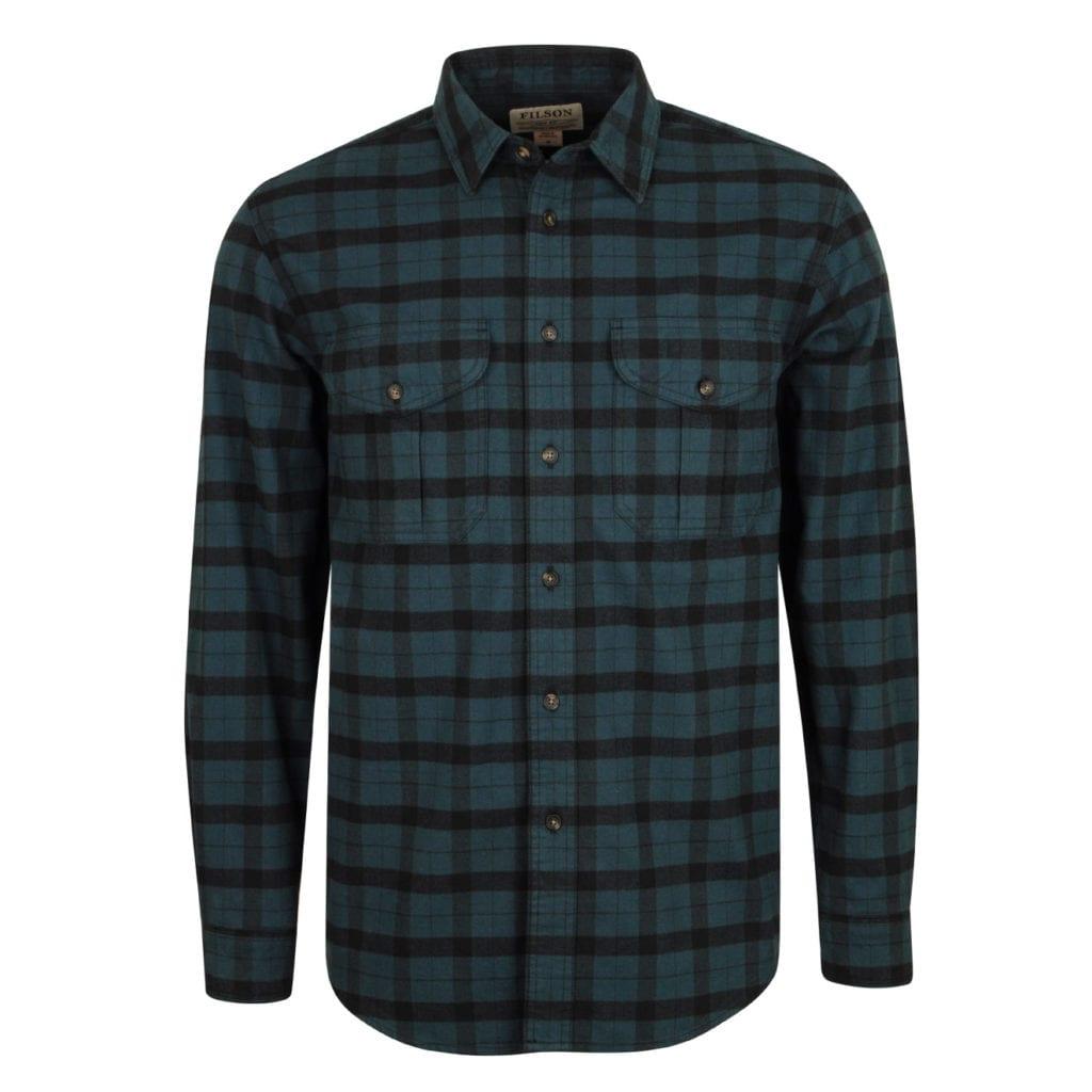 Filson Alaskan Guide Shirt Midnight Black