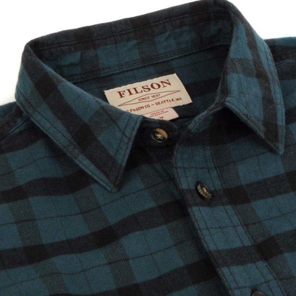 Filson Alaskan Guide Shirt Midnight / Black