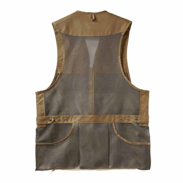 Filson Light Shooting Vest Dark Tan