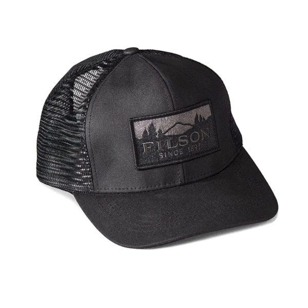 Filson Logger Mesh Cap Black