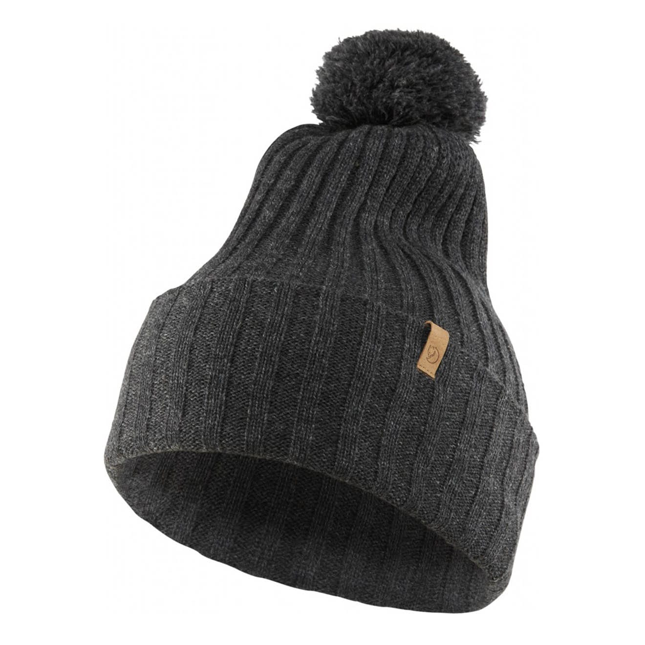 Details about Fjallraven Byron Pom Hat Dark Grey ebba0804478