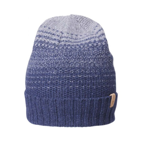 Fjallraven Two-Tone Stripe Beanie Navy / Fog