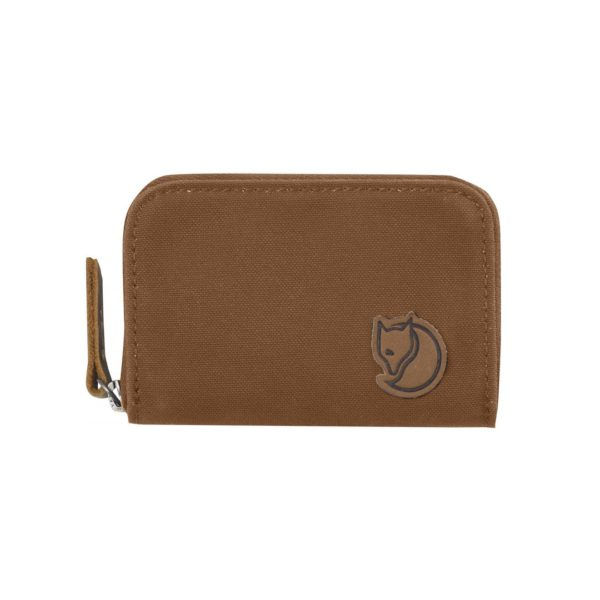 Fjallraven Zip Card Holder Chestnut