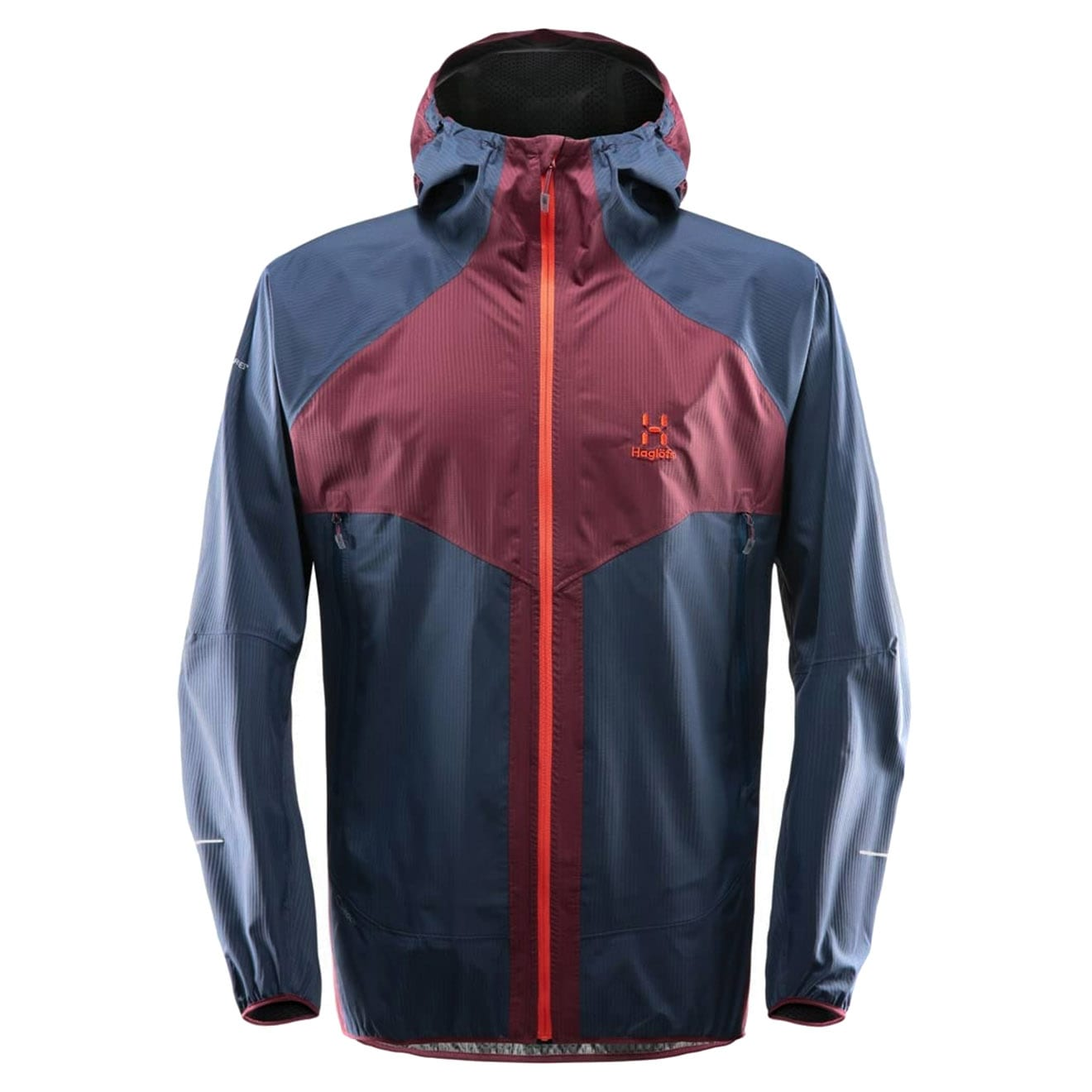 Haglofs LIM Proof Multi Jacket Aubergine Tarn Blue