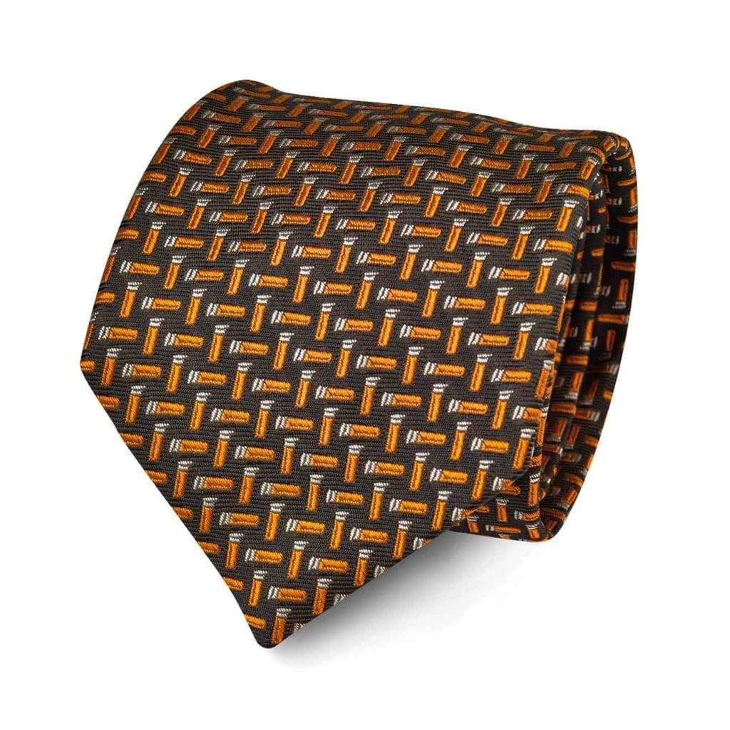 James Purdey Cartdirdges Tie Green