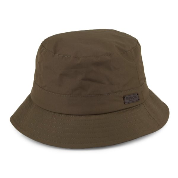 Barbour Elwood Waterproof Sports Hat Army Green